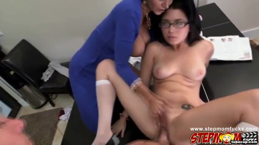 Lovely pussy babes Daisy Summers and Ava Addams got cock