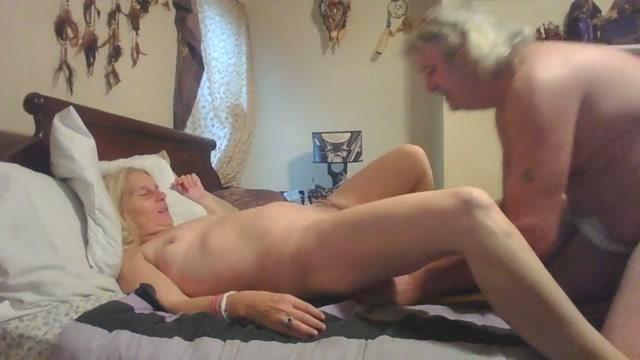 Old couple - still hot Yang thai handjob penis slowly
