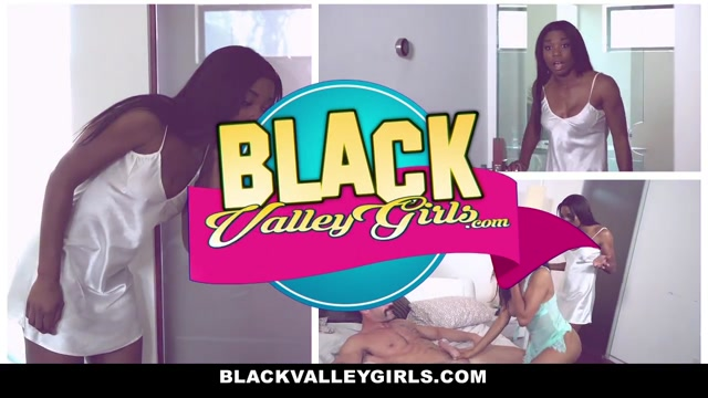 BlackValleyGirls - Photos and Interracial Fucking Black Beauty Playing With Her Clitoris
