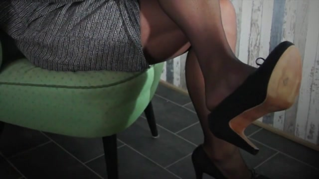 Horny in stockings and new dress free sex nude yoga video