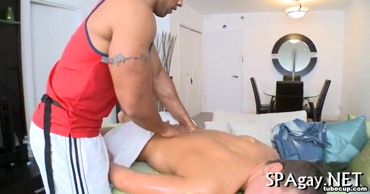 Wild blowjob for gay Wahl hot cold massager