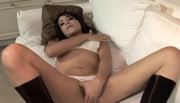 Amazing Solo Masturbation Brunette porn video. Enjoy watching Very tiny boobs
