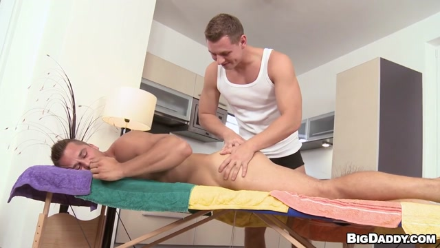 Two Men Massage Each Others Ass Scene - RubHim Sex naket photography boy girl