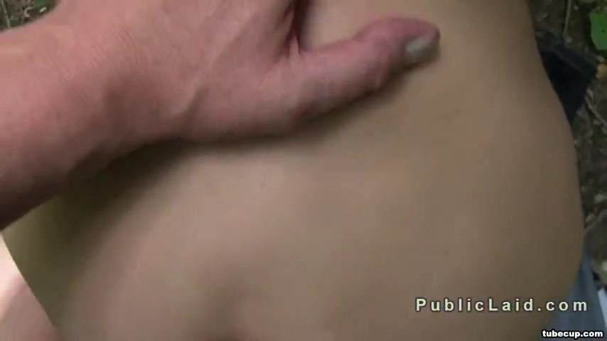 Czech amateur fucking outdoor POV Nude nri in public