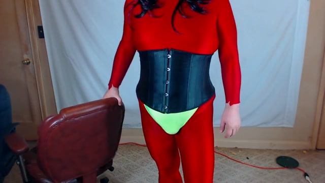 Female masking in spandex again recipes for asian noodles