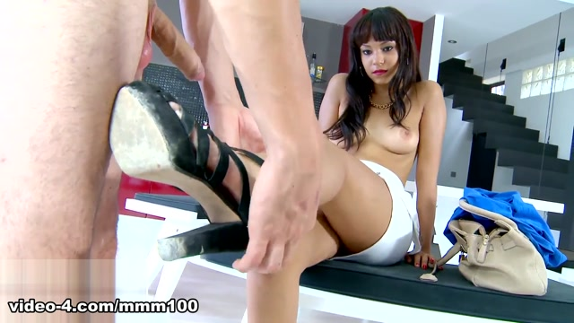 Sasha Jones & Kevin White in Blowjob By The Mature Maid, Fucked By His Gf - MMM100 celebrity nude love scene