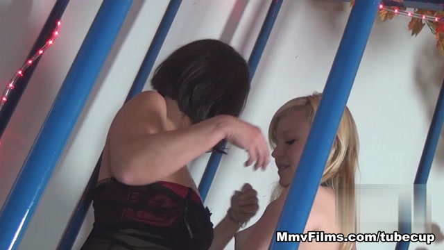 Caged Lesbian Swinger Passion Video - MmvFilms Beautiful cheerleader facial sex video