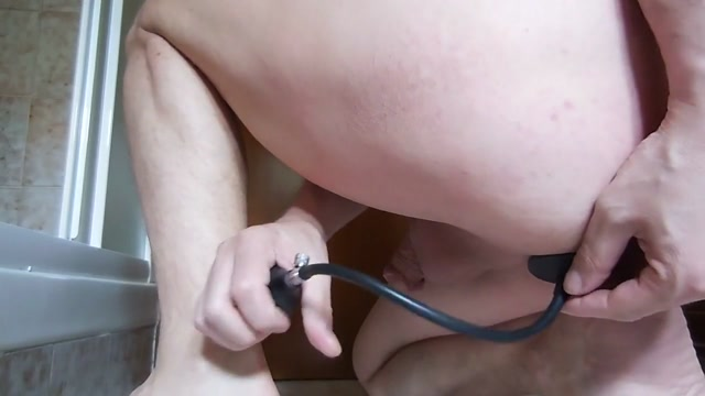 Giant Inflatable Butt Plug for extreme anal dilatations Is it worth dating someone with herpes