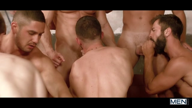 Darius Ferdynand & Dato Foland & Gabriel Cross & Hector De Silva & Jay Robertsin Sense 8 : A Gay XXX Parody Part 5 - SuperGayHero Touching and fucking boobs sec