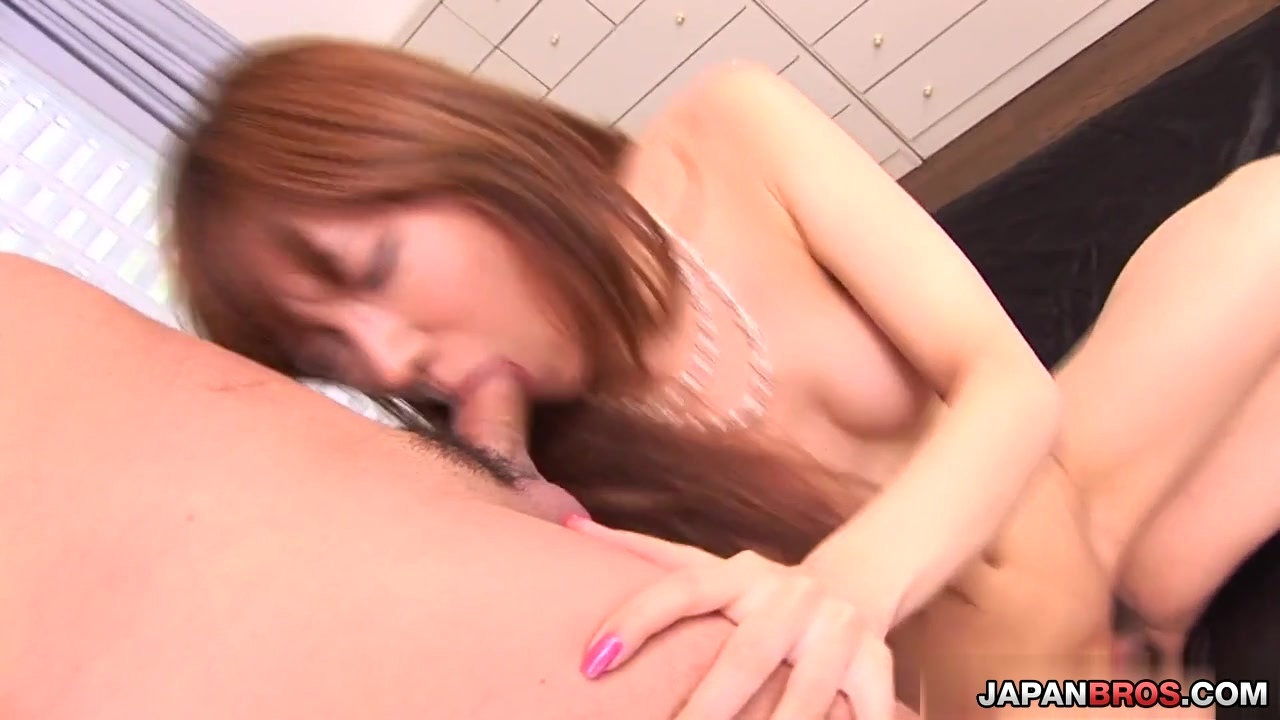 Two on one with sexy Serina Hayakawa gets extra hot