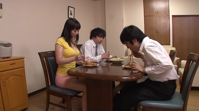 Nao Mizuki in Attracted To Stepmoms Sweaty Chest part 4