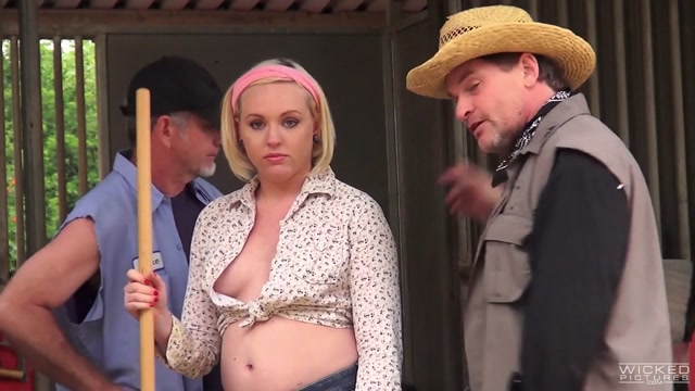 Miley May in Axel Brauns Farmer Girls, Scene 3 - Wicked Sweet babe love riding huge hard dick