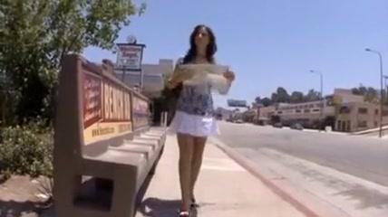 Maria Bellucci interracial DP Asian girl booty shake