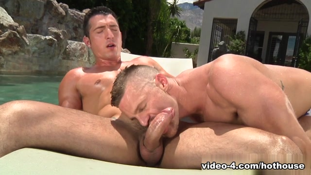 Jimmy Durano & Landon Conrad in Heatstroke Scene strap on anal tube