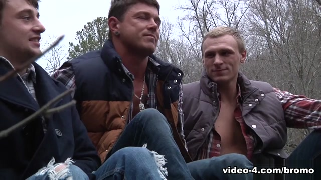 Bryce & Scott Harbor & Sebastian Young & Tom Faulk in Backwoods Bareback Part #3 Scene 1 - Bromo Bbw alexis gives that cock a workout