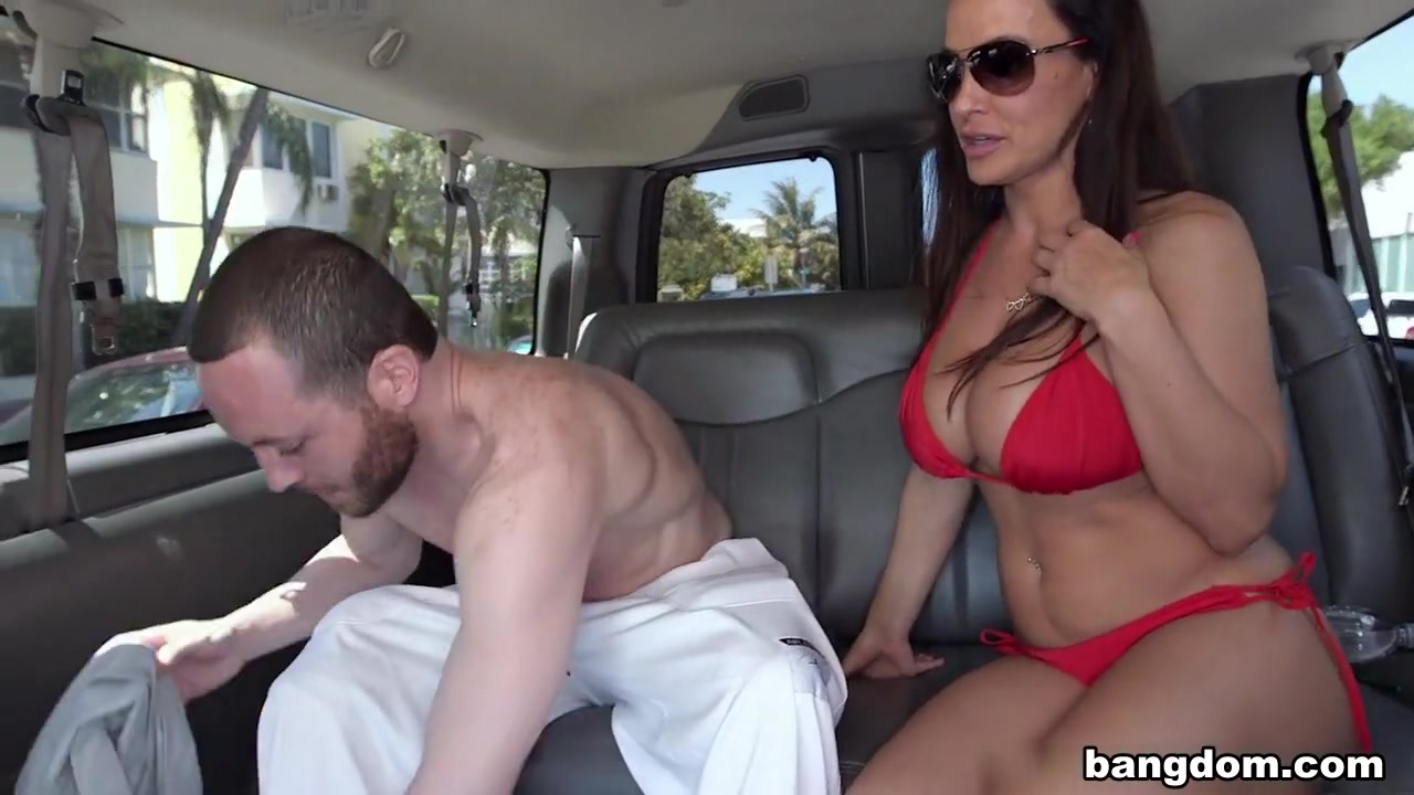 Lisa Ann is a horny MILF on the BangBus Who is the most popular pornstar