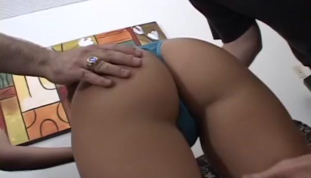 Excellent Natural tits Threesome porno film. Enjoy