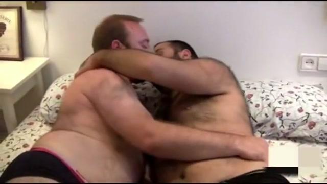 2 bears fucking Big biker men naked