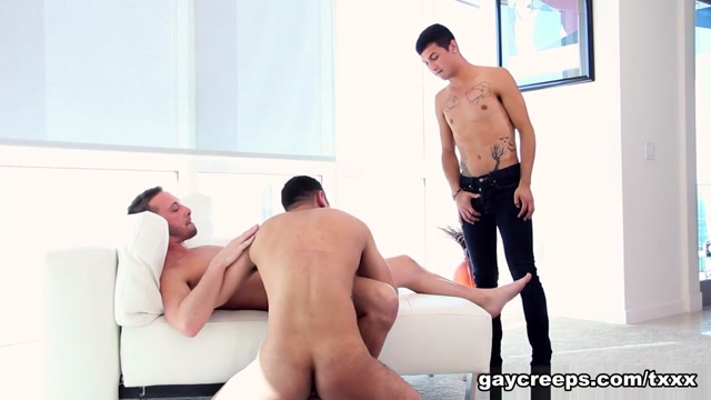 Davey Anthony & Billie Ramos & Josh Nelson in Highrise Hook Up - GayCreeps thick latina loves to be fucked hardcore
