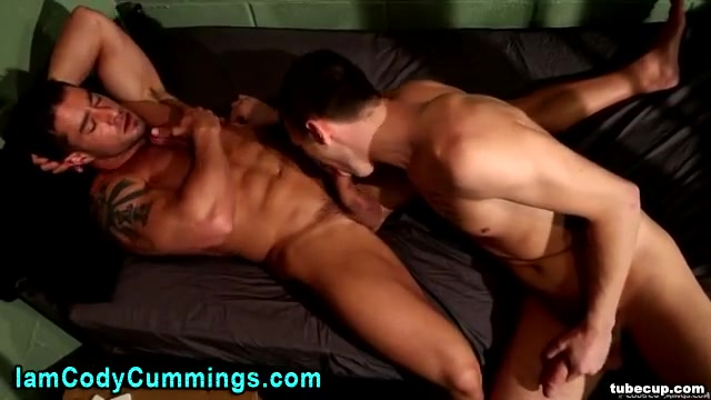 Cody Cummings jail bang with twink Butt black lick dick load cumm on face