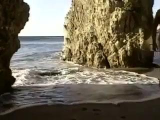 Spied wankin on the beach Videochat site