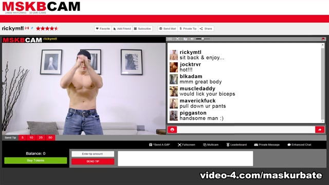 Ricky in MSKBCAM - Ricky XXX Video - MaskUrbate hamster just porn bullshit