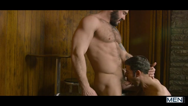 Dario Beck & Jessy Ares in Language Barrier Part 2 - Str8ToGay Gran caught masturbating
