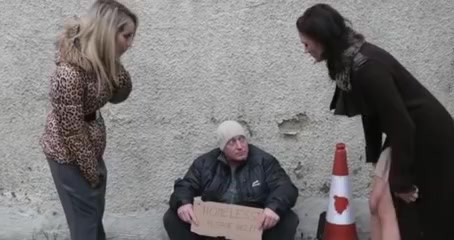 three cuties assist a homeless boyfrend Schools girl fuck picture