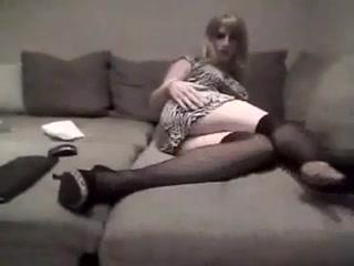 She teases you kinky cumshots on wife