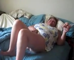 Granny s cunt Cock fucking tits
