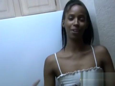 Naughty ebony gf Stephine sensual fetish handjob Getting laid in Muconda