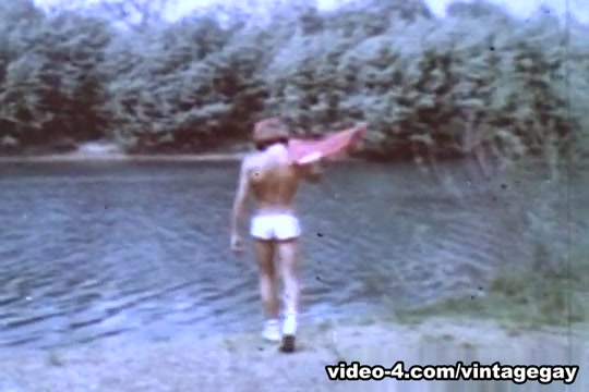 VintageGayLoops Video: Peter Berlin Teens in wet panty