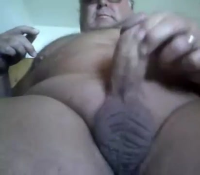 Grandpa cum on cam 8 Double penetration home made