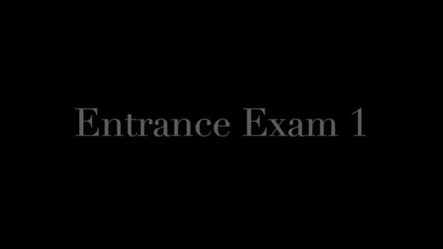 School of Hard Cocks - Entrance Exam 1 - Walk the Line (JOI)