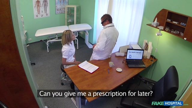 Nancy in Naughty blonde nurse gets doctors full attention - FakeHospital free mobile video porn