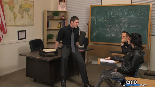 A Hard Uncut Teacher Dick - Nate Kennedy, Tyler Bolt And Brice Carson - ExposedEmos is cyber sex cheating