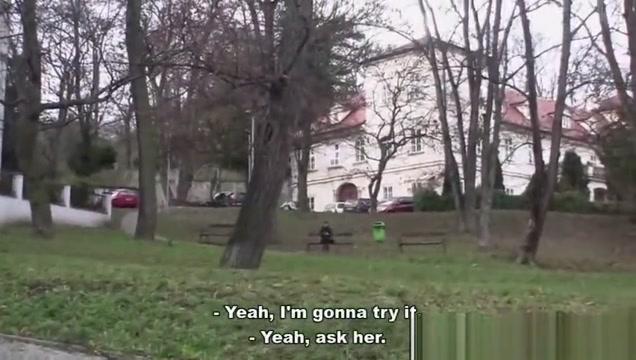 Bitch STOP - Skinny teen Zuzana gets fucked by horny dude Big Juicy Ass