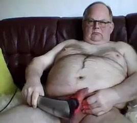 Grandpa play on cam using castor oil packs for a sore throat