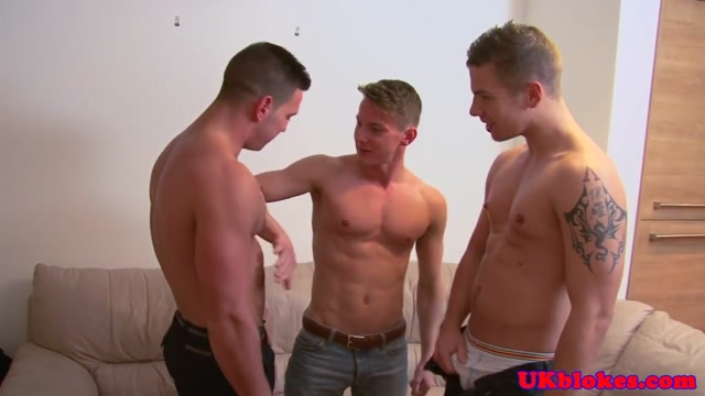 Muscular british studs spitroast young bloke milf city april 2018