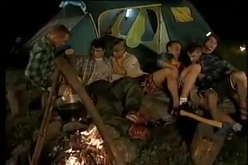 Twink orgy at camping Redhead licking womans asshole