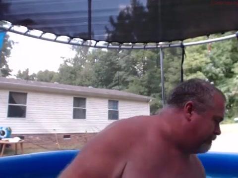 Naked Pool Dad Fantasy fest xxx