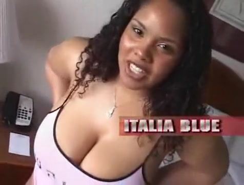 Italia Blue is a Thick Ass Red Bone Frankfurter girl