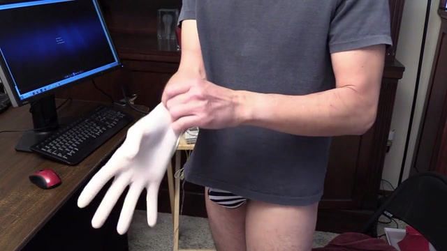 1st prostate massage Femdom mistress rules over pathetic sub