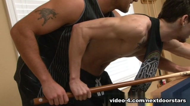 Trystan Bull & Johnny Torque in Pool Sticks & Dicks XXX Video Why do women moan when they have sex