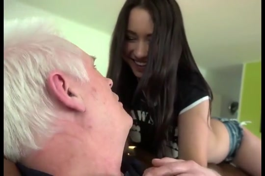 With daddy substitute on sofa girl getting whipped and fucked sex video