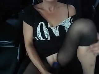 Pumped at park and car masturbation Luchy in Playing with some nice ass