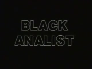 The blackanalist 1987 vhs Chicago parents network