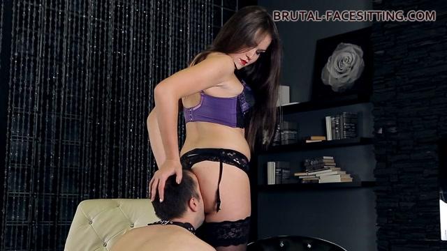 Charlotte Clips - Brutal-Facesitting Shiny Japanese Porn