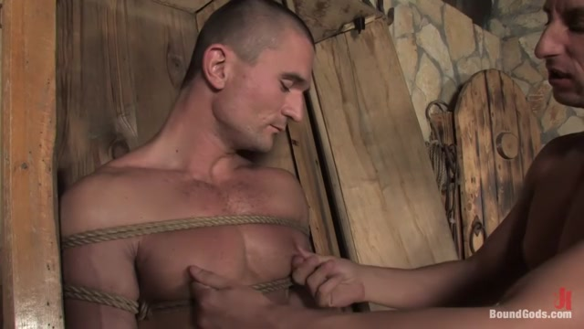 Medieval Budapest in Boundgods Video met art naked in camp