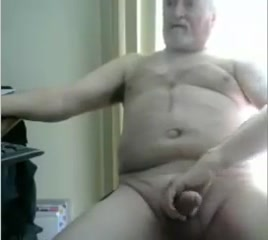 Grandpa stroke 8 naked girls getting a physical
